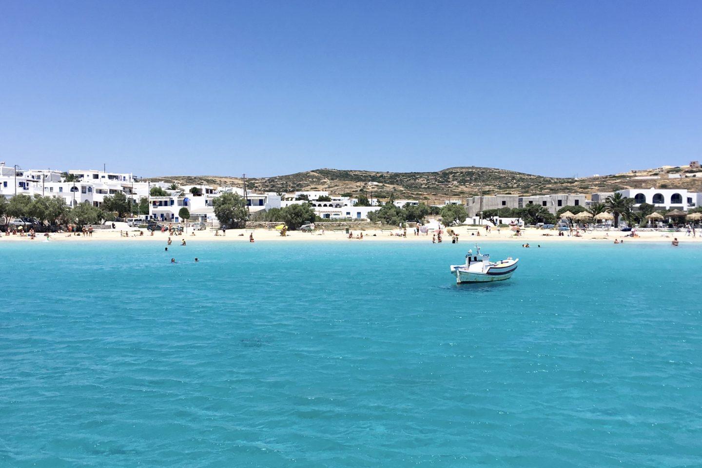 Sailing to Koufonisia